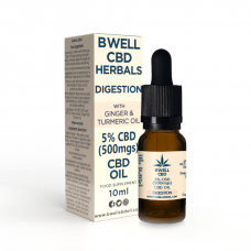 5% CBD (500 mgs), With Ginger & Turmeric: Digestions